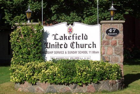 Lakefiled United Church