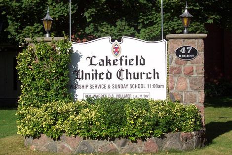 Lakefiled United Church