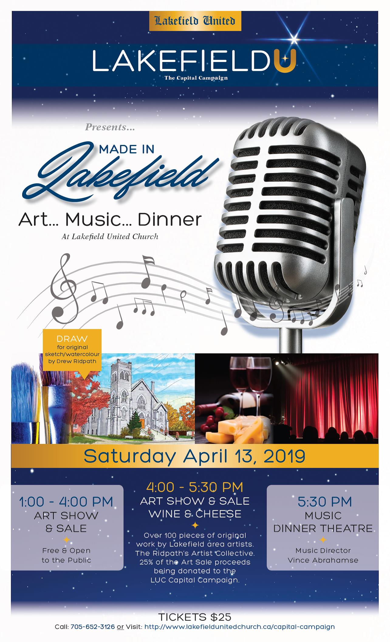 Made in LAkefield poster
